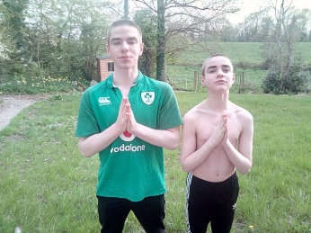 boys as buddhists monks